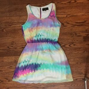Colorful summer dress!Great for weddings/going out
